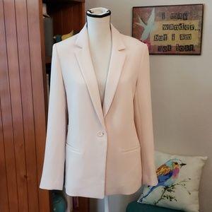 Club Monaco Size 8 Blazer blush